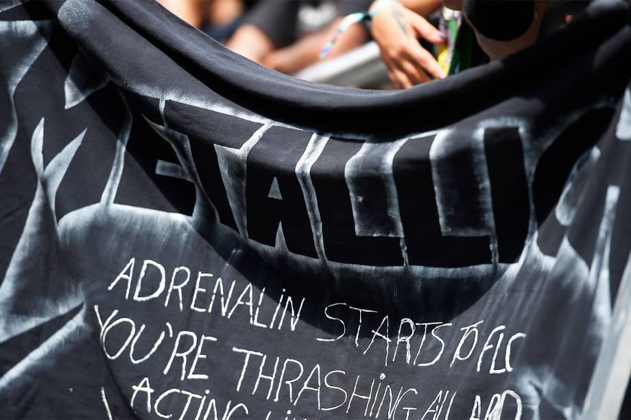 Metallica já tem público garantido a sua espera na 6ª edição do Lollapalooza