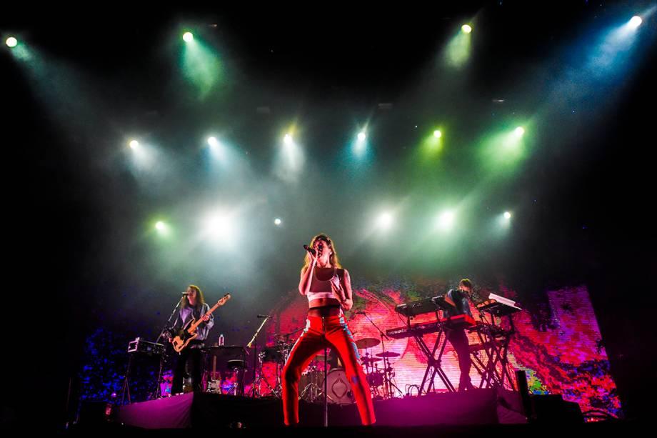 A sueca Tove Lo se apresenta no primeiro dia do Lollapalooza 2017