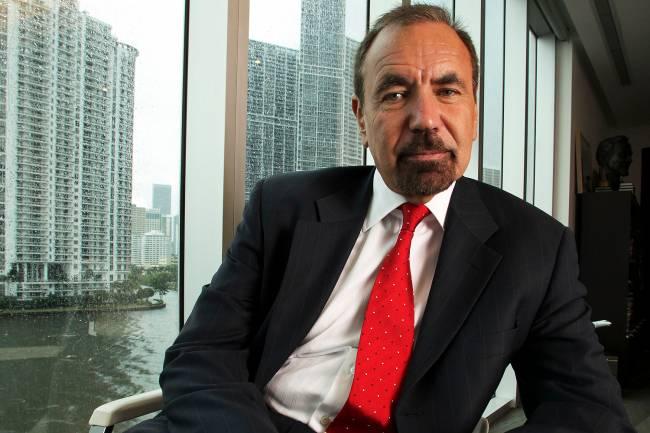 O empresário cubano-americano Jorge Pérez