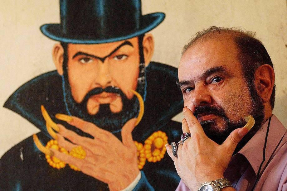 José Mojica Marins, o Zé do Caixão - 06/02/2004