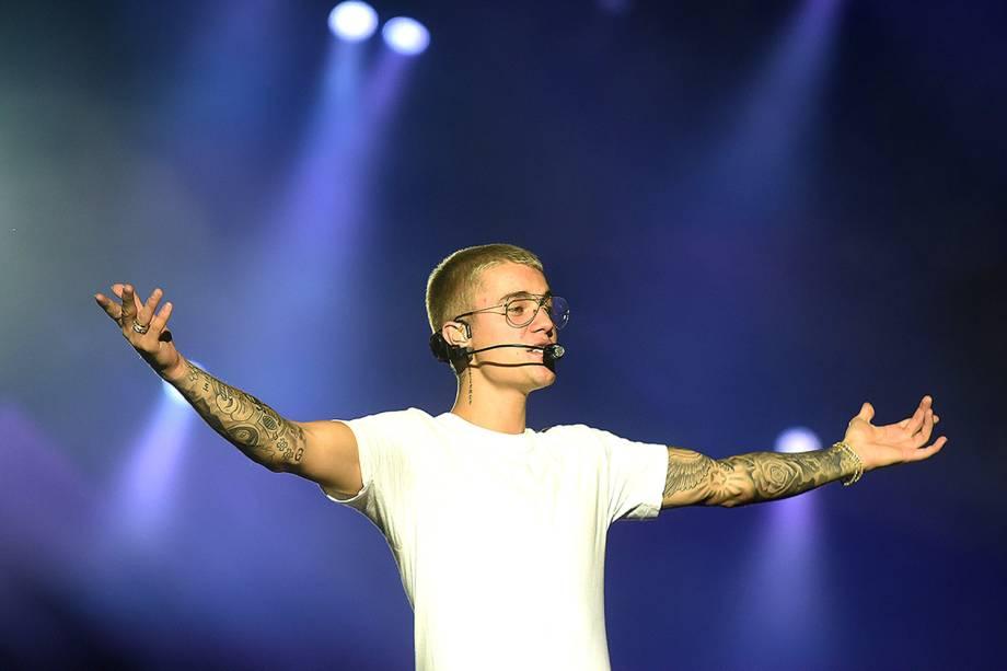 Justin Bieber se apresenta na Apoteose no Rio de Janeiro, Brasil - 30/03/2017