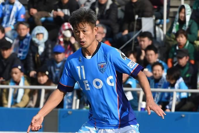 O jogador Kazuyoshi Miura, do Yokohama FC