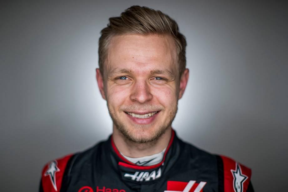 Kevin Magnussen, 24 anos, Dinamarca. É piloto da Haas e subiu uma vez ao pódio.