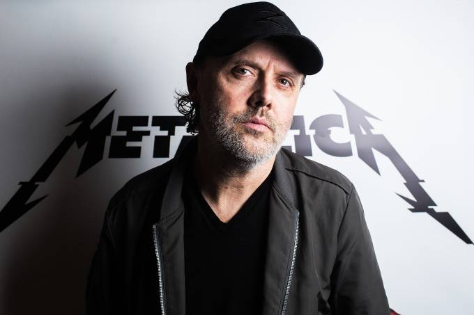 Lars Ulrich, baterista do Metallica