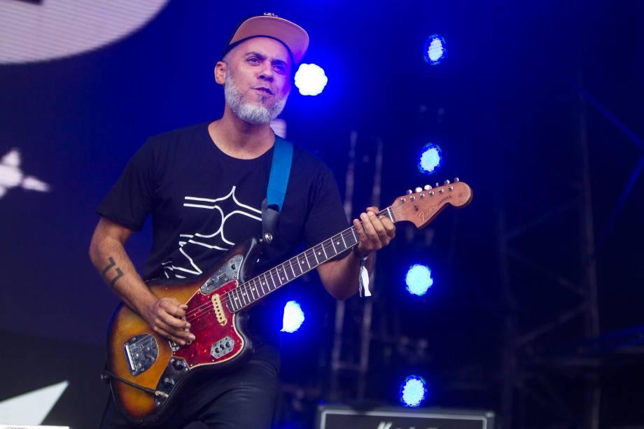Show da banda BaianaSystem no primeiro dia do Festival Lollapalooza 2017