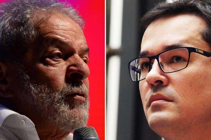 Lula e Deltan Dallagnol
