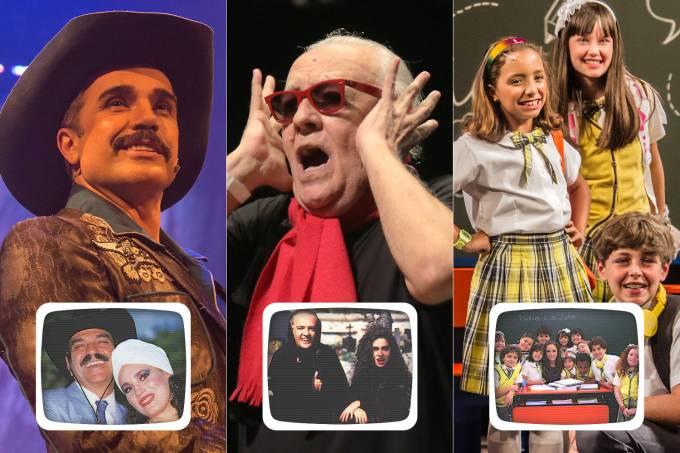Adaptações de 'Roque Santeiro' (Globo, 1985), 'Vamp' (Globo, 1991) e 'Carrossel' (SBT, 2012)