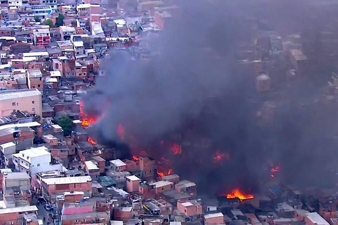 Incêndio em Paraisópolis – 01/03/2017