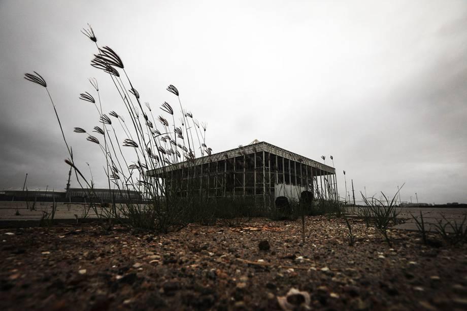 Parque aquático da Rio 2016, abandonado 7 meses após os jogos