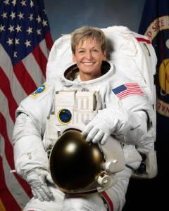 Astronauta americana Peggy Whitson