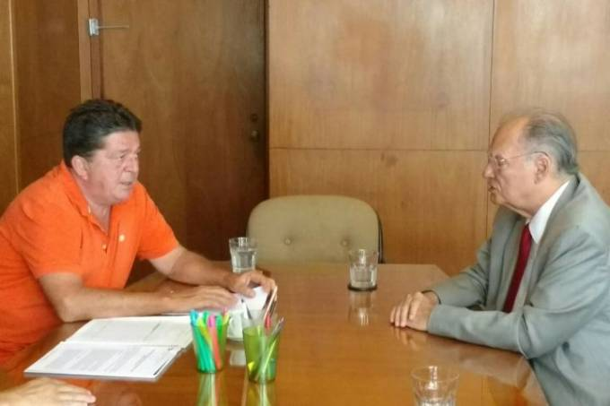 Stepan Nercessian e Roberto Freire