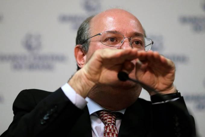 Brazil's Central Bank President Ilan Goldfajn, speaks during a news conference in Brasilia