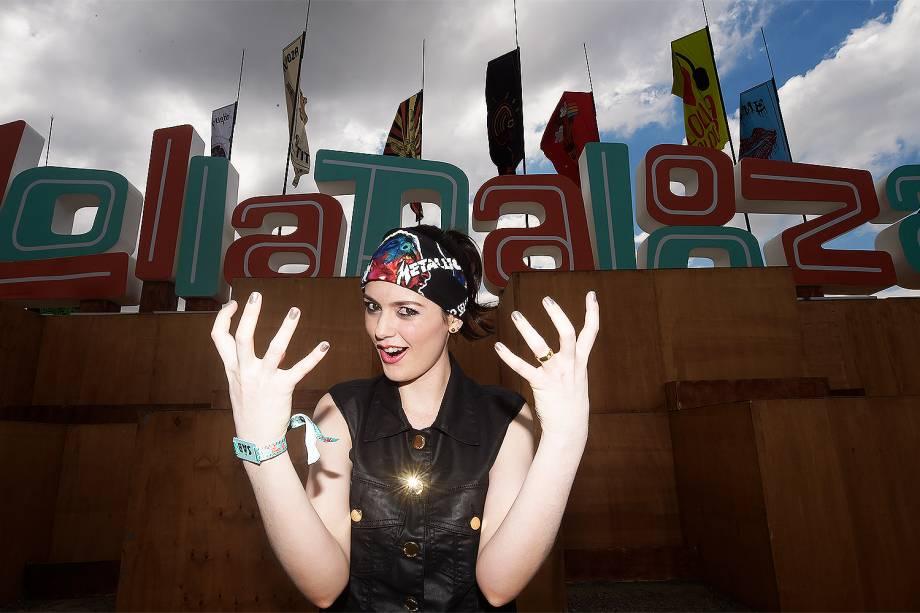 Público chega para 6ª edição do Lollapalooza no autódromo de Interlagos