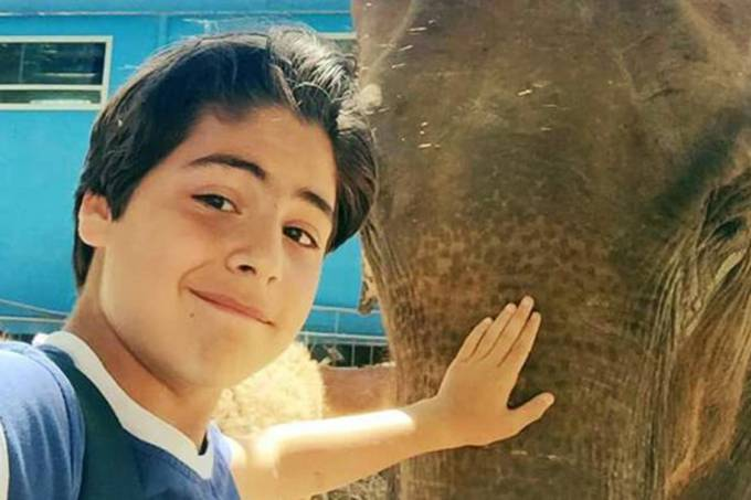 Leandro Celia, 13 anos