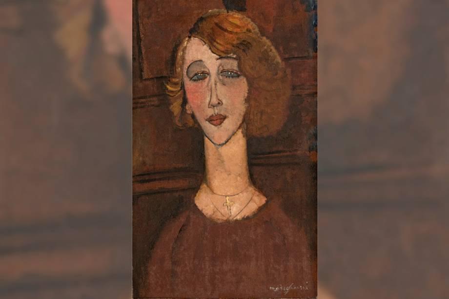"""Renée""por Amedeo Modigliani"