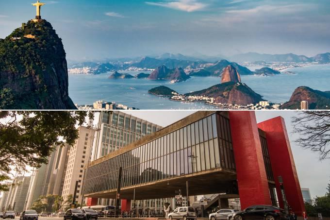 Rio de Janeiro e São Paulo