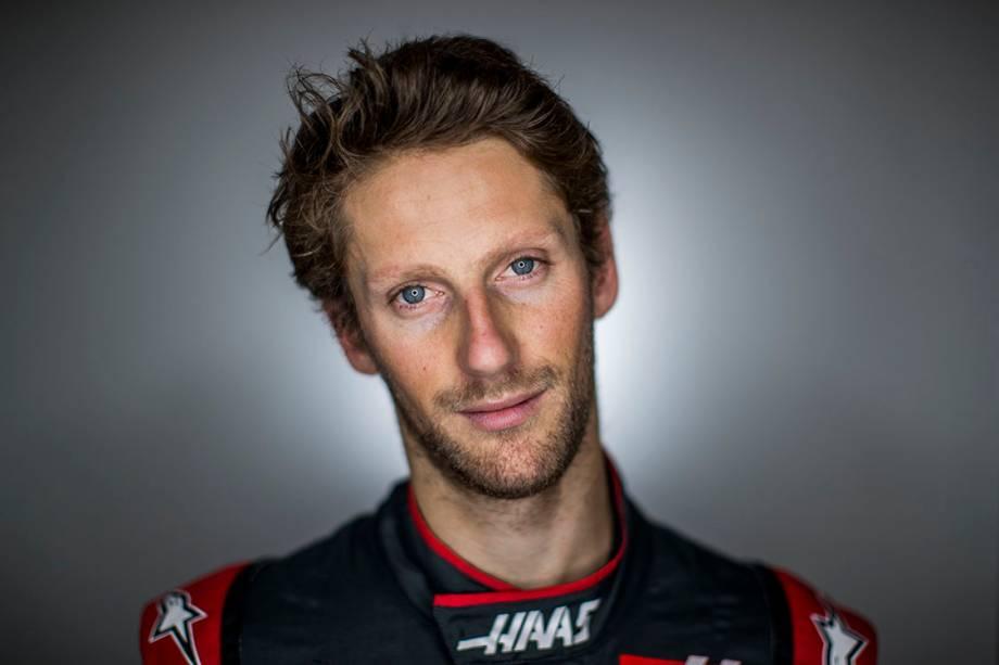 Romain Grosjean, 30 anos, França. Defende a Haas e tem 10 pódios.