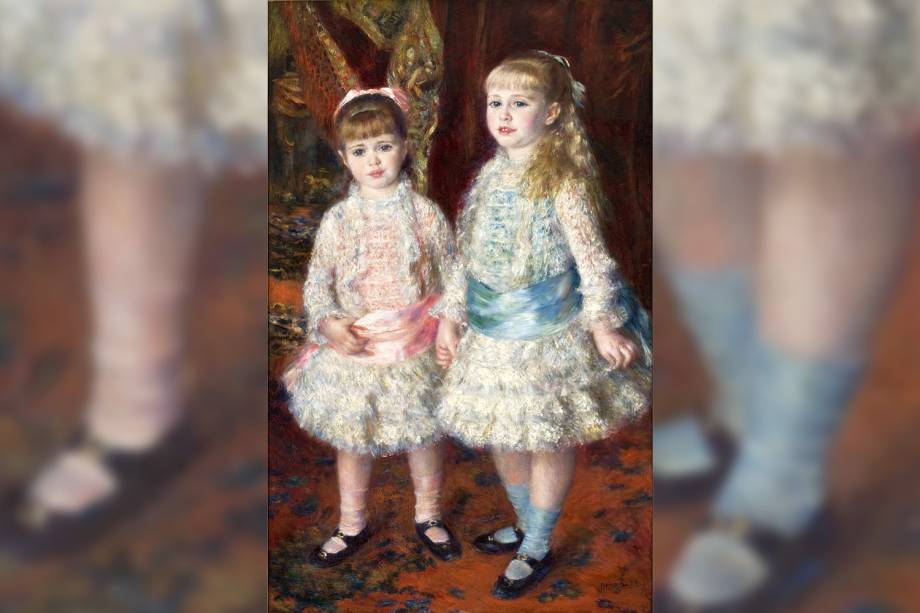 """""""Rosa e Azul - As Meninas"""" por Cahen d'Anvers"""