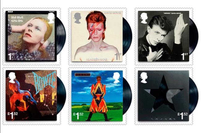 Selos homenageiam David Bowie