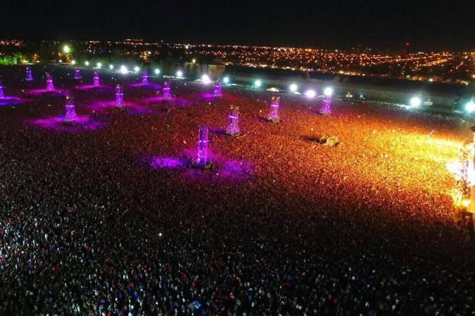 Show na Argentina termina com pessoas pisoteadas