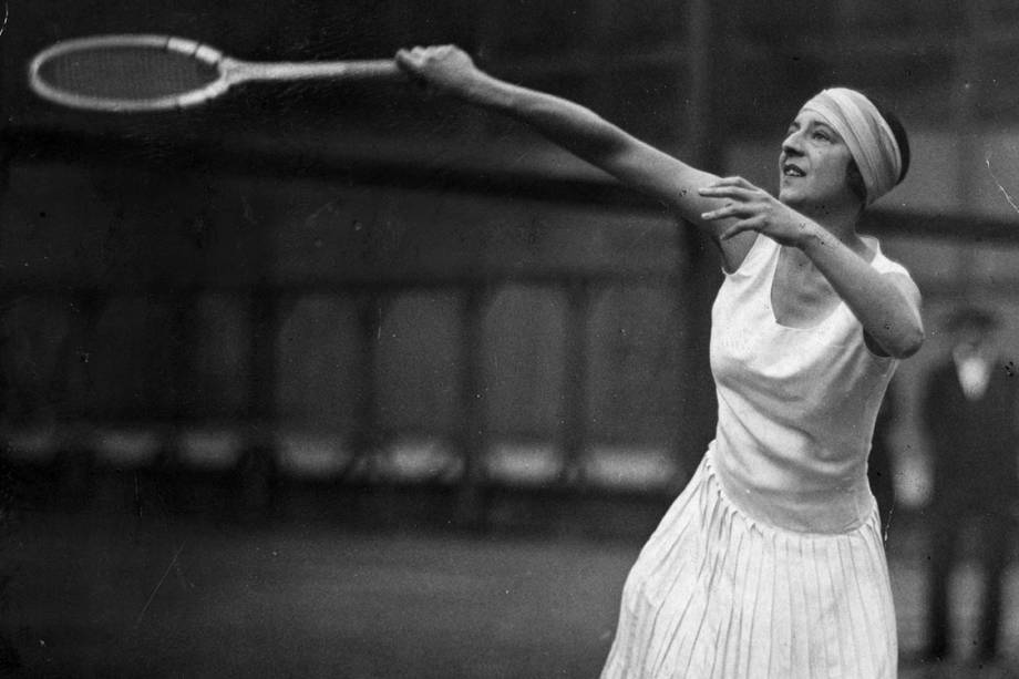 Dia Internacional da Mulher - Suzanne Lenglen