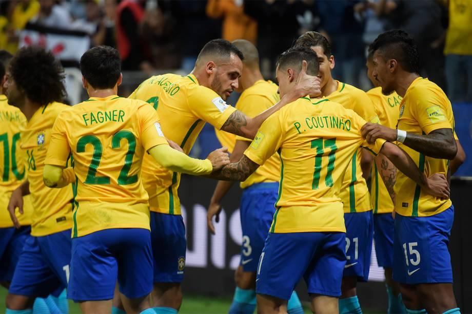 Brasil vence o Paraguai no Itaquerão