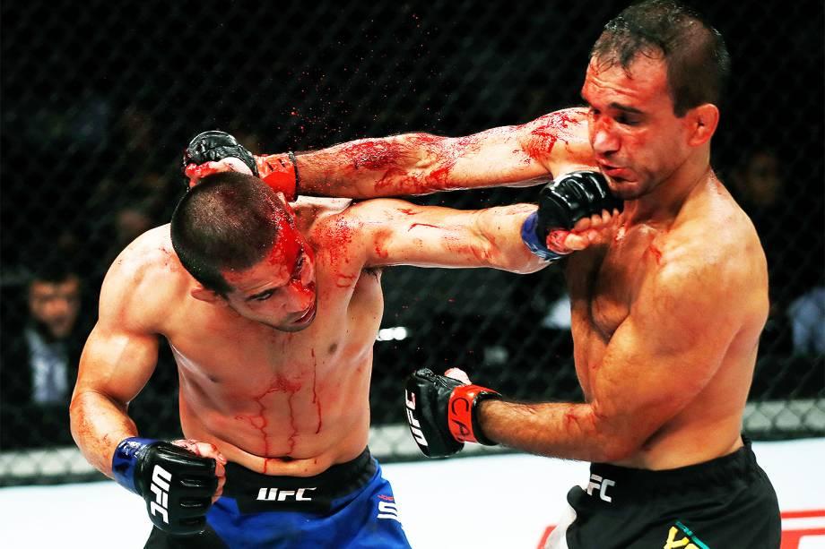 Joe Soto e Rani Yahya durante a edição 106 do UFC Fight Night, no CFO – Centro de Formação Olímpica, em Fortaleza - 11/03/2017