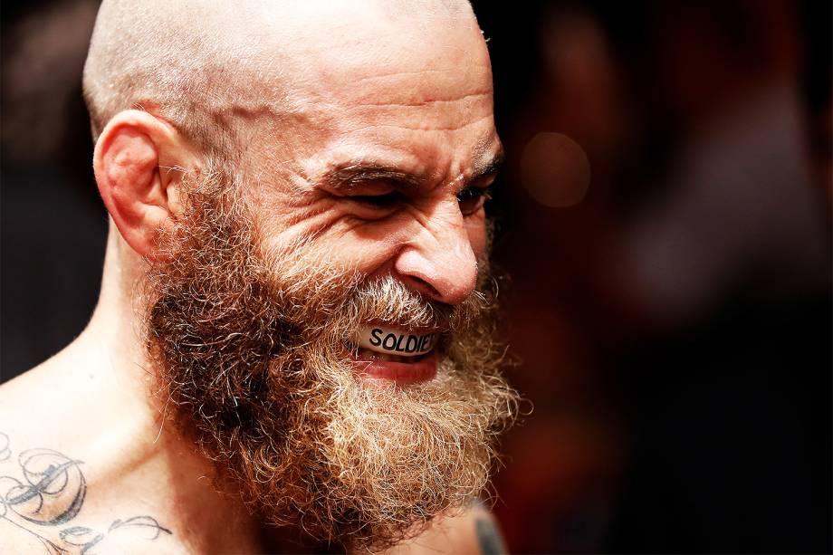 Garreth McLellan durante a edição 106 do UFC Fight Night, no CFO – Centro de Formação Olímpica, em Fortaleza - 11/03/2017