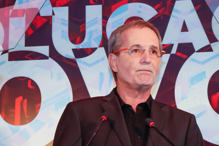 Walter Longo, presidente do grupo Abril, durante abertura do Fórum VEJA Exame A Revolução do Novo