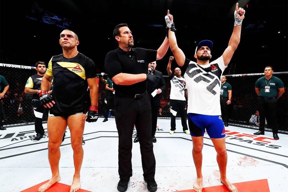 Belfort é nocauteado no UFC Night Fight, em Fortaleza - 12/03/2017