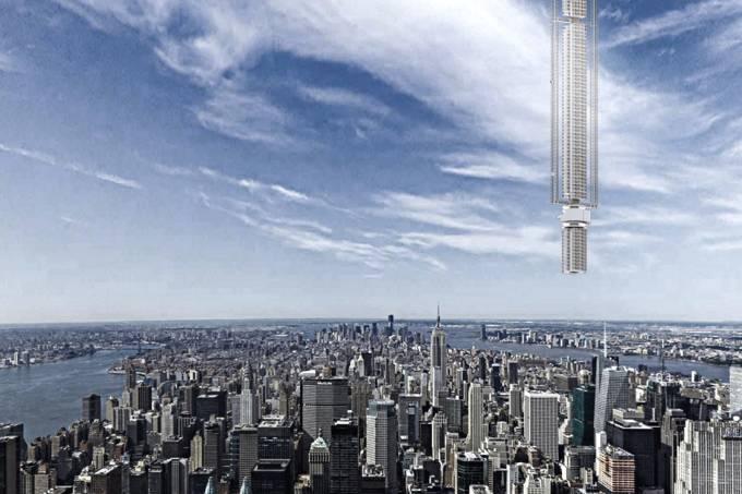 """Empresa quer manipular asteroide para construir uma torre de """"ponta-cabeça"""""""