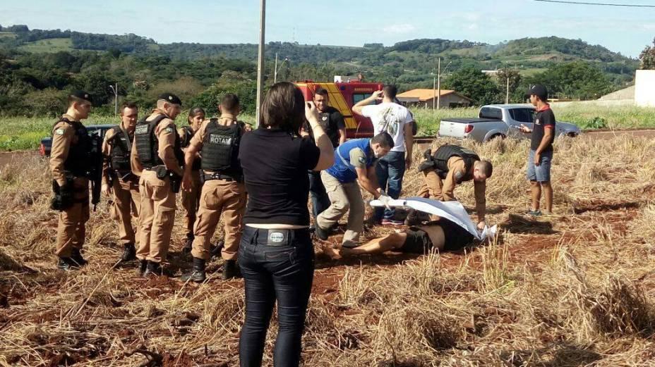 Suspeito de assalto no Paraguai morto no Paraná