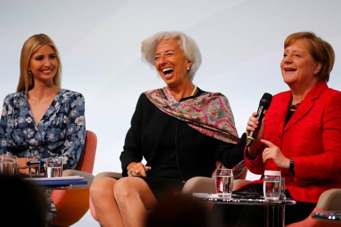 Ivanka Trump na cúpula das mulheres do G20