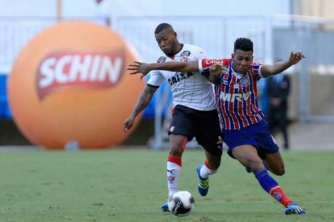 Partida entre Vitória e Bahia