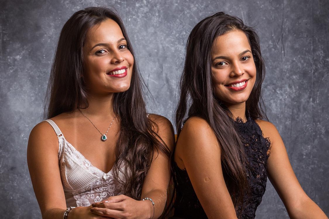 Irmãs gêmeas Emilly e Mayla participam da 17ª edição do BBB