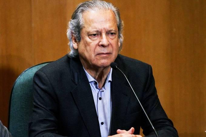 O ex-ministro da Casa Civil, José Dirceu