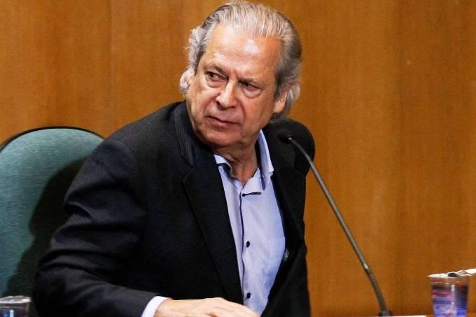 O ex-ministro da Casa Civil José Dirceu: novas acusações de corrupção e lavagem de dinheiro