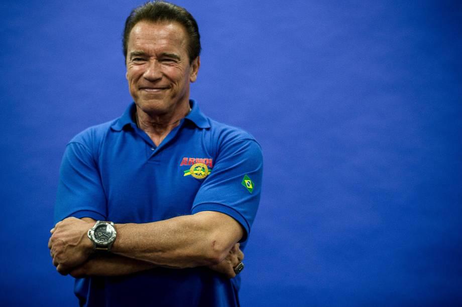 O ator e ex-governador da Califórnia Arnold Schwarzenegger
