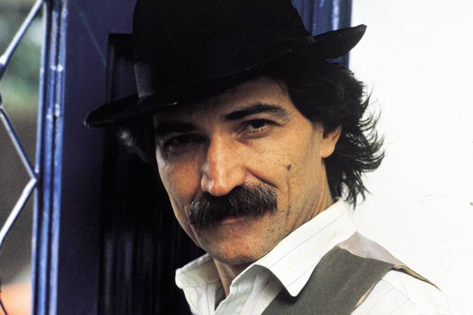O cantor e compositor Belchior, nos anos 80