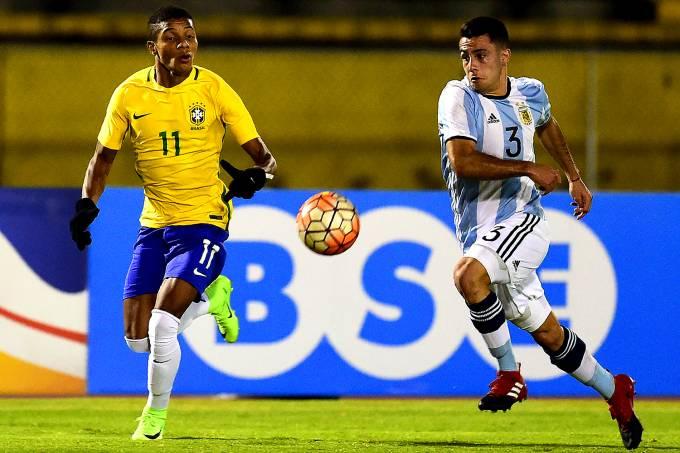 Brasil X Argentina na Copa Sul-Americana em Quito, Equador – 08/02/2017