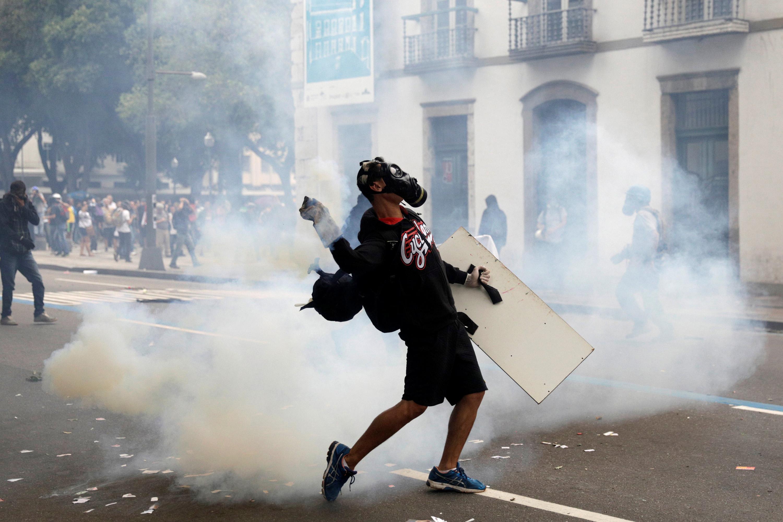 Protestos no Rio de Janeiro