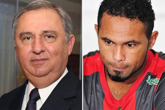 José Carlos Bumlai e goleiro Bruno