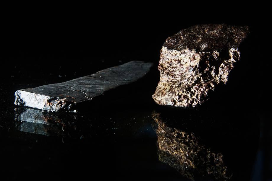 Meteoritos adquiridos pela Bramon