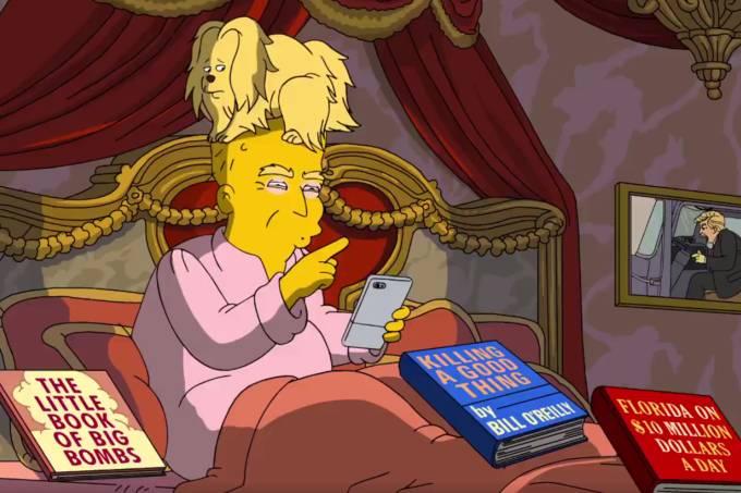 Donald Trump em mini-episódio de 'Os Simpsons'