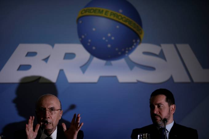 Henrique Meirelles e Dyogo Henrique de Oliveira