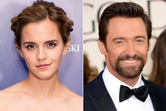 Emma Watson e Hugh Jackman vão concorrer na mesma categoria no MTV Movie & TV Awards