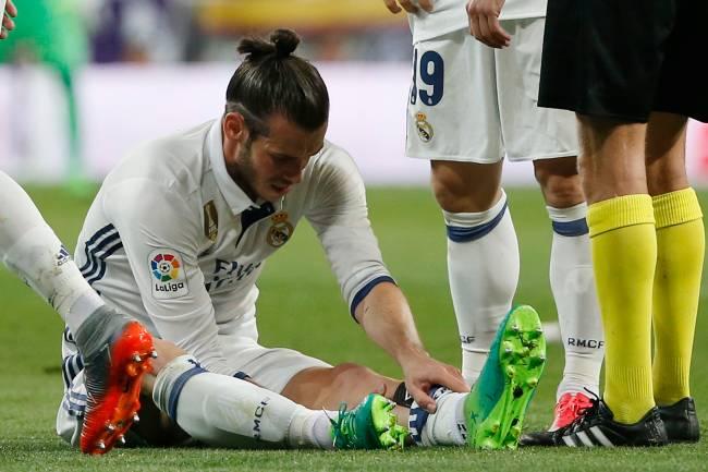 Gareth Bale sofre lesão