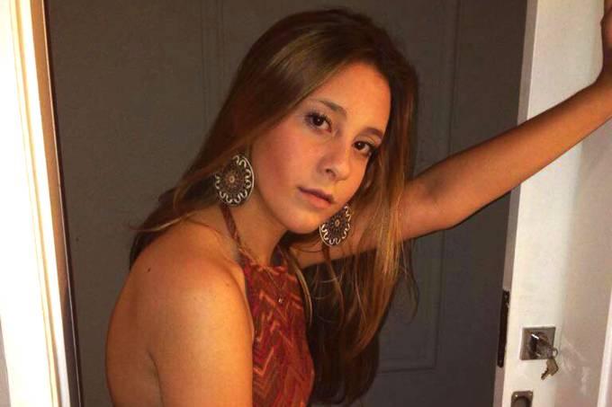 A estudante Lara Furno, morreu após contrair uma super bactéria em Vitória, Espírito Santo