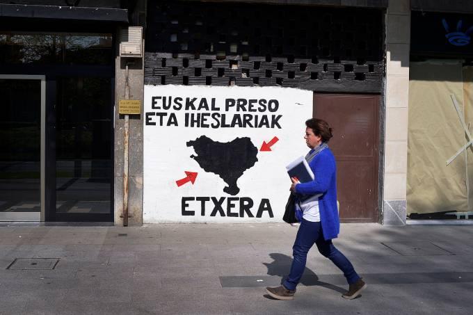 O grupo separatista basco ETA