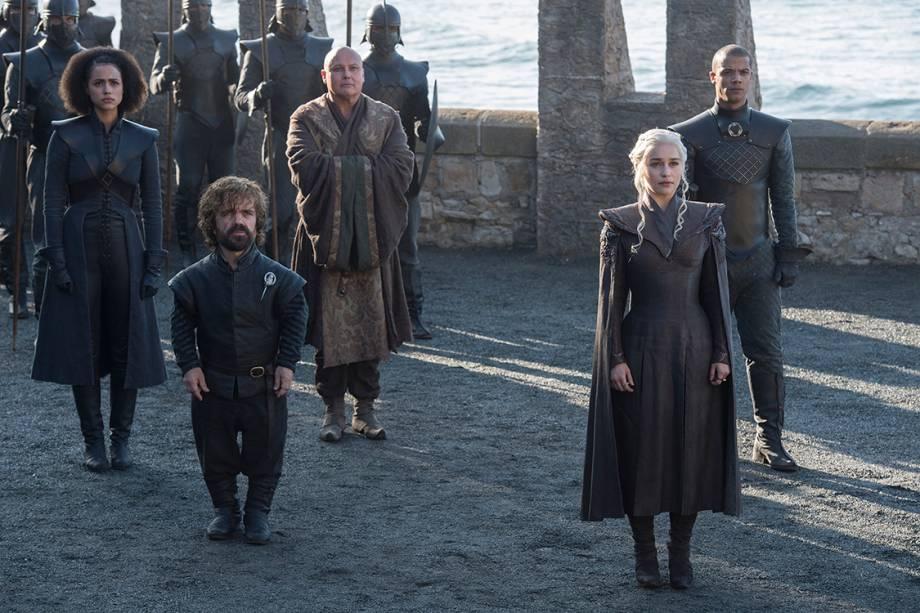 Cena da 7ª temporada da série 'Game of Thrones'